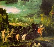 The Rape of Proserpine  gfgf ABBATE, Niccolo dell