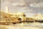 The Port of Algiers Albert Lebourg
