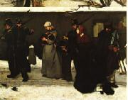 What Is Called Vagrancy Alfred Stevens