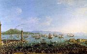 The Embarkation of Charles III in the Port of Naples Antonio Joli