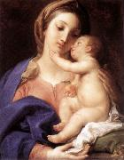 Madonna and Child  ewgdf BATONI, Pompeo