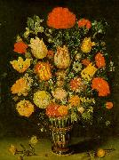 Still-Life of Flowers f BOSSCHAERT, Ambrosius the Elder