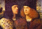 Portrait of Two Young Men fd CARIANI