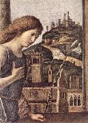 The Annunciation (detail) dsg CIMA da Conegliano
