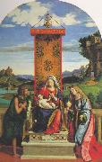 The Madonna and Child with St John the Baptist and Mary Magdalen dfg CIMA da Conegliano
