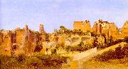 The Ruins of the Septizonium on the Palatine in Rome Charles Blechen