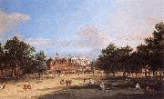 London: the Old Horse Guards and Banqueting Hall, from St James s Park  cdc Charles Blechen