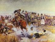 Bronc to Breakfast Charles M Russell