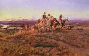 Men of the Open Range Charles M Russell