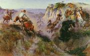 The Wild Horse Hunters Charles M Russell