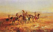 Sun River War Party Charles M Russell