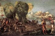 Aeneas and Achates on the Libyan Coast df DOSSI, Dosso