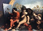 Jupiter, Mercury and the Virtue df DOSSI, Dosso