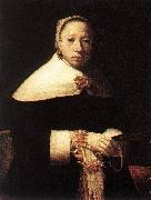 Portrait of a Woman dfhkg DOU, Gerrit