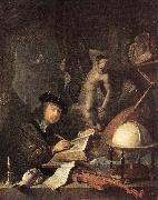 Painter in his Studio dafg DOU, Gerrit