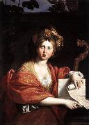 The Cumaean Sibyl ertw Domenichino