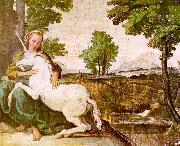 The Maiden and the Unicorn Domenichino