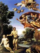 Adam and Eve sfw Domenichino