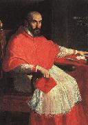 Portrait of Cardinal Agucchi sw Domenichino