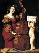 St Cecilia dsw Domenichino