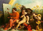 Jupiter, Mercury and Virtue Dosso Dossi