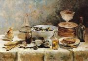 Still Life with Salad Greens Vuillard