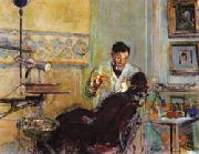 Dr.Georges Viau in His Office Treating Annette Roussel Vuillard