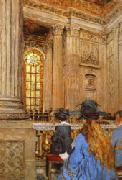 The Chapel at the Chateau of Versailles Vuillard