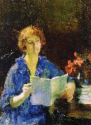 Woman Reading Francis Coates Jones