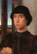 Portrait of a Young Man    kk Hans Memling
