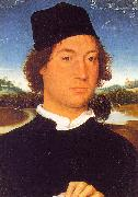 Portrait of an Unknown Man Hans Memling