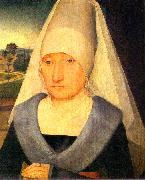 Portrait of an Old Woman Hans Memling