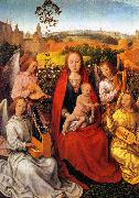 Mary in the Rose Bower Hans Memling