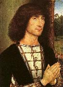 Portrait of a Young Man   www Hans Memling