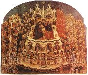 Coronation of the Virgin sf JACOBELLO DEL FIORE