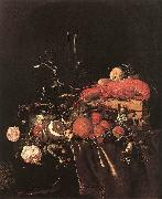 Still-Life with Fruit Flowers, Glasses Jan Davidsz. de Heem