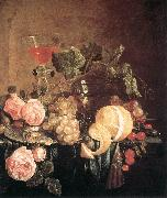 Still-Life with Flowers and Fruit Jan Davidsz. de Heem