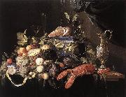 Still-Life with Fruit and Lobster Jan Davidsz. de Heem