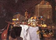 A Table of Desserts Jan Davidsz. de Heem