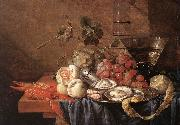 Fruits and Pieces of Sea Jan Davidsz. de Heem