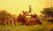 The Old Stagecoach Eastman Johnson