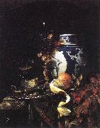 Still-Life with a Late Ming Ginger Jar KALF, Willem