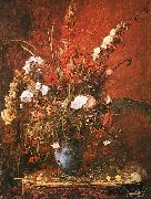 Large Flower Piece Mihaly Munkacsy