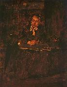 Seated Old Woman Mihaly Munkacsy