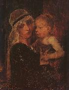 Mother and Child Mihaly Munkacsy
