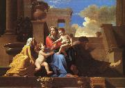 Holy Family on the Steps Nicolas Poussin