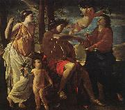 Inspiration of the Poet Nicolas Poussin