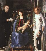 The Virgin with a Knight of Montesa Pablo de San Leocadio