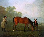 Furiband with his Owner Sir Harry Harpur and a Groom Sawrey Gilpin