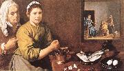 Christ in the House of Mary and Marthe r VELAZQUEZ, Diego Rodriguez de Silva y